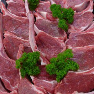 Uncrumbed Lamb Cutlets